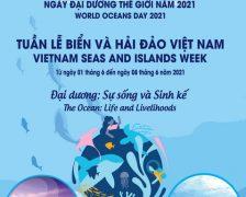 Tổ chức các hoạt động tại Tuần lễ Biển và Hải đảo Việt Nam hưởng ứng Ngày Đại dương thế giới năm 2021